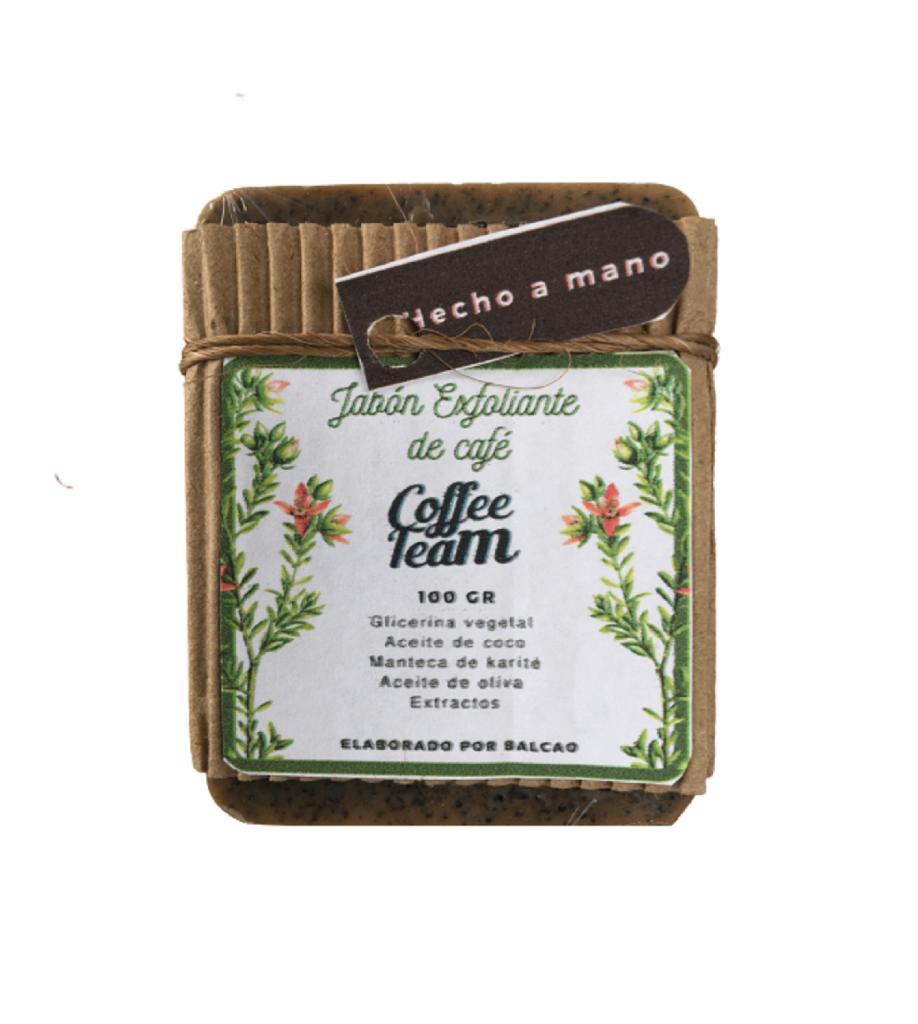 Jabón Exfoliante de Café